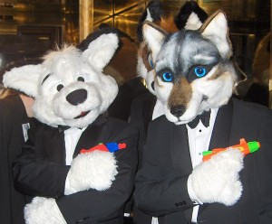 723px-Further_Confusion_2007_spy_fursuiters_in_elevator_Green_Reaper